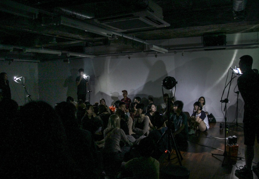 22 Untitled, sound performance, 2014 (1)
